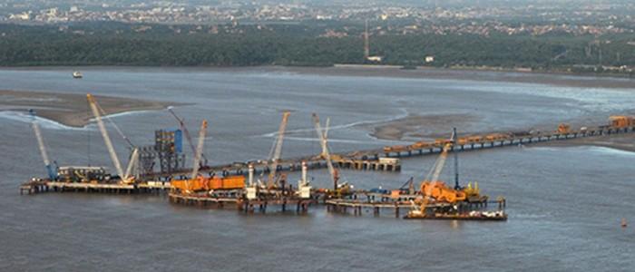 Implementation of civil works for Pier IV - Cradle North (offshore)