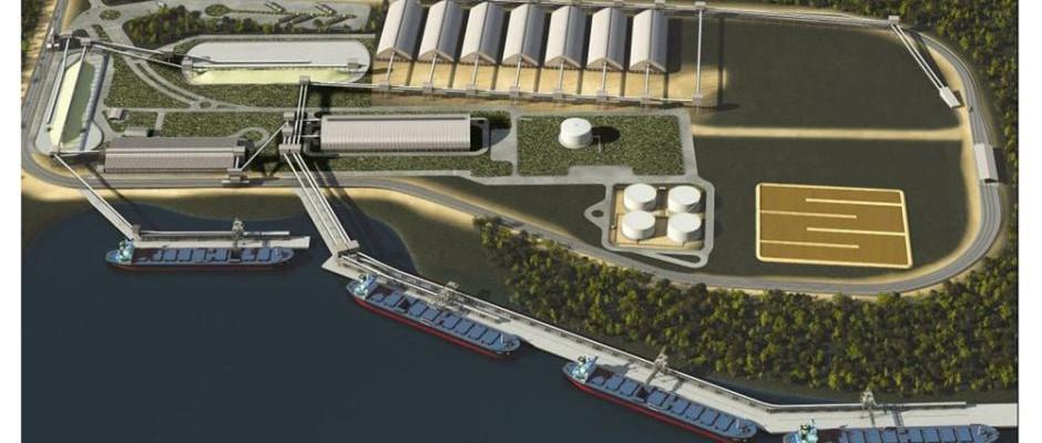 Ampliação do Terminal Marítimo da Ultrafértil Cubatão/SP